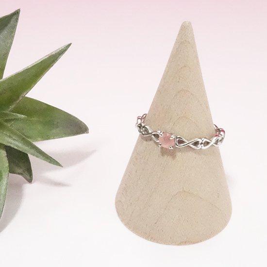 インカローズ(ロードクロサイト)のシルバーリングの写真0 cute stone