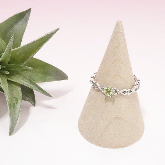 ペリドットのシルバーリングの写真0 cute stone