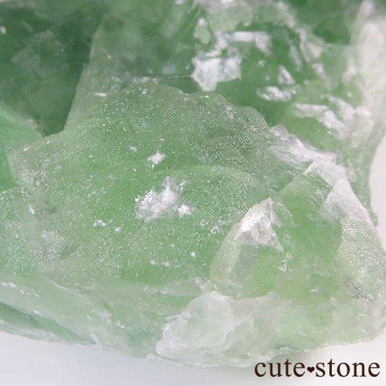 グリーンフローライト(蛍石)のクラスター(原石)の写真4 cute stone