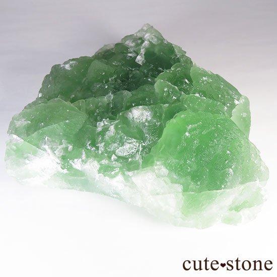 グリーンフローライト(蛍石)のクラスター(原石)の写真6 cute stone