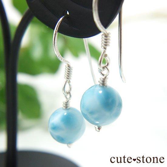 【海のかけら】高品質ラリマーのピアス(イヤリング)の写真0 cute stone