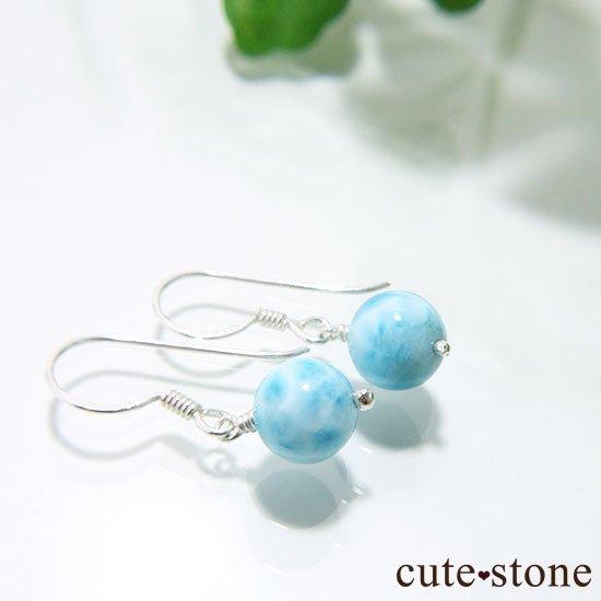 【海のかけら】高品質ラリマーのピアス(イヤリング)の写真3 cute stone