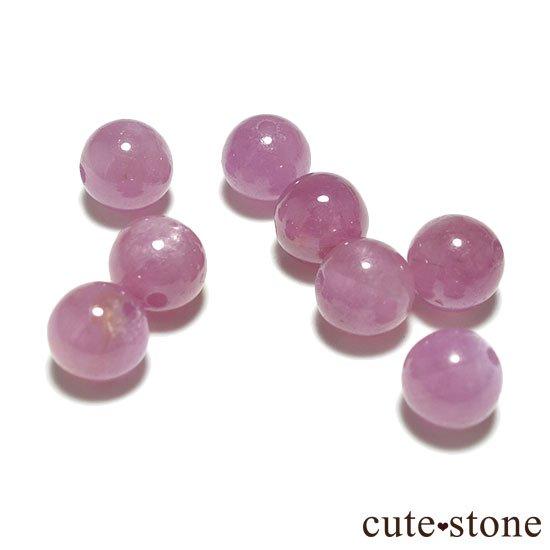 【粒売り】ピンクサファイア AAA ラウンド5mmの写真0 cute stone