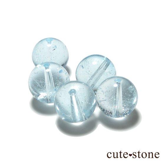 【粒売り】ブルートパーズ AAA ラウンド8mmの写真0 cute stone