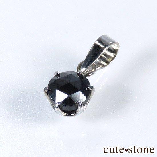 ブラックダイヤモンド 0.5ct プラチナ900製ペンダントトップ