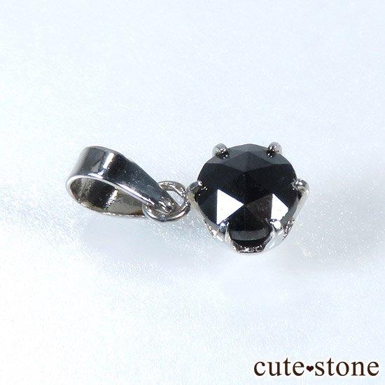 ブラックダイヤモンド 0.5ct プラチナ900製ペンダントトップの写真0 cute stone