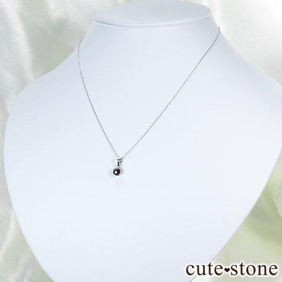 ブラックダイヤモンド 0.5ct プラチナ900製ペンダントトップの写真1 cute stone