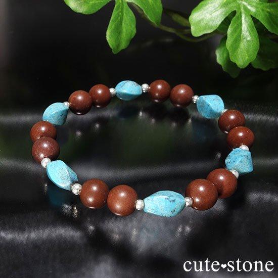 【聖なる大地】ターコイズ セドナストーンのブレスレットの写真2 cute stone