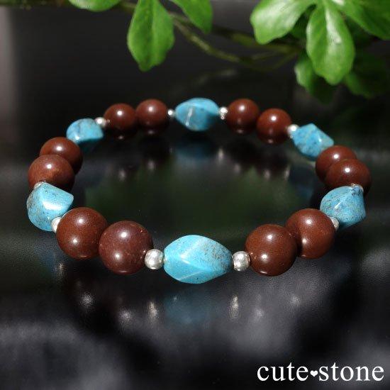 【聖なる大地】ターコイズ セドナストーンのブレスレットの写真3 cute stone