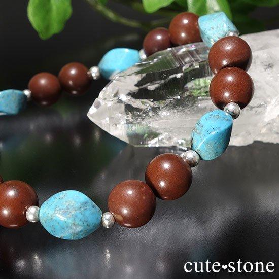 【聖なる大地】ターコイズ セドナストーンのブレスレットの写真4 cute stone