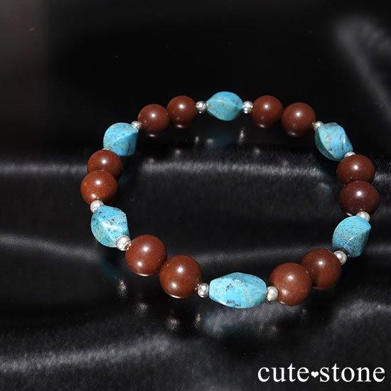 【聖なる大地】ターコイズ セドナストーンのブレスレットの写真5 cute stone