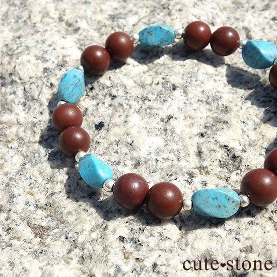 【聖なる大地】ターコイズ セドナストーンのブレスレットの写真6 cute stone