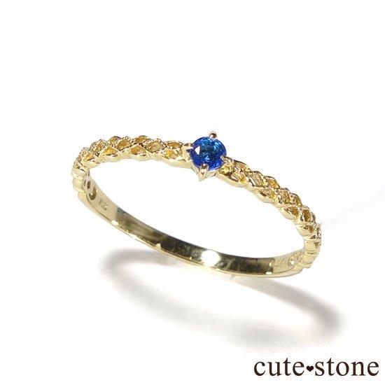 アウイナイトのK18リング(サイズ調整可)の写真1 cute stone