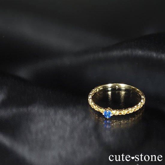 アウイナイトのK18リング(サイズ調整可)の写真2 cute stone