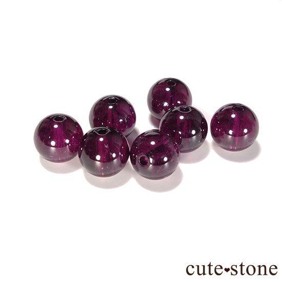 【粒売り】ロードライトガーネット AAA+ ラウンド6mmの写真1 cute stone