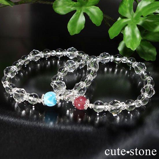 dc1112b419 天然水晶のみで作ったパワーストーンブレスレット【Crystal Bracelet ...