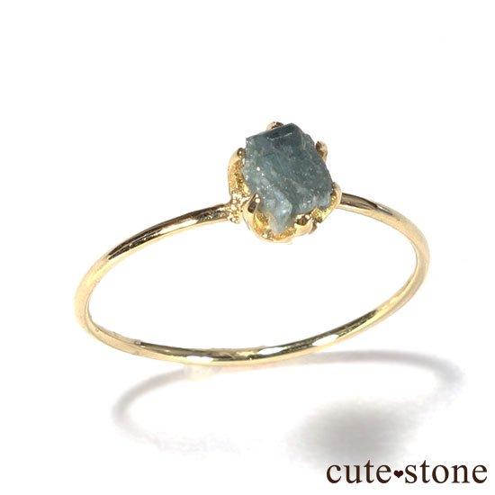 アレキサンドライトの原石 K18リング(サイズ調整可)の写真0 cute stone