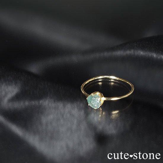 アレキサンドライトの原石 K18リング(サイズ調整可)の写真2 cute stone