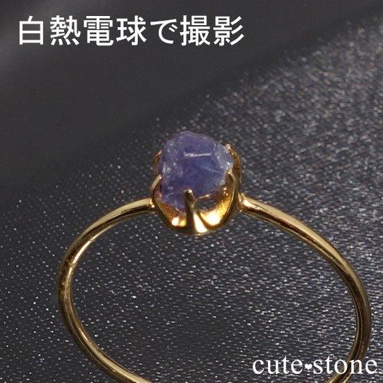 アレキサンドライトの原石 K18リング(サイズ調整可)の写真4 cute stone