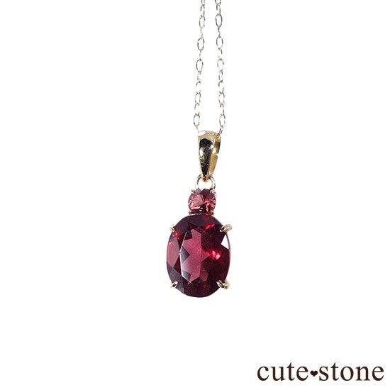 ガーネットのK18製ペンダントトップの写真0 cute stone