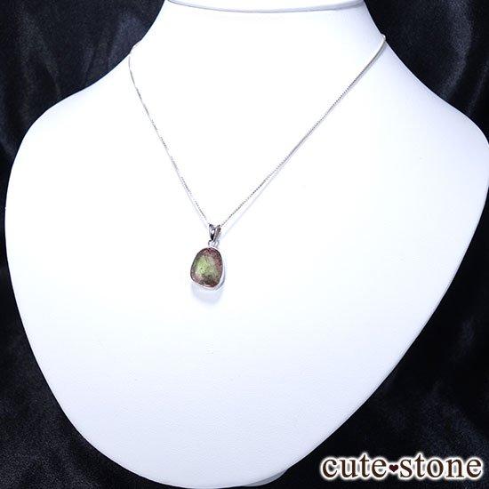 バイカラーメロントルマリンのsilver925のペンダントトップ Bの写真1 cute stone