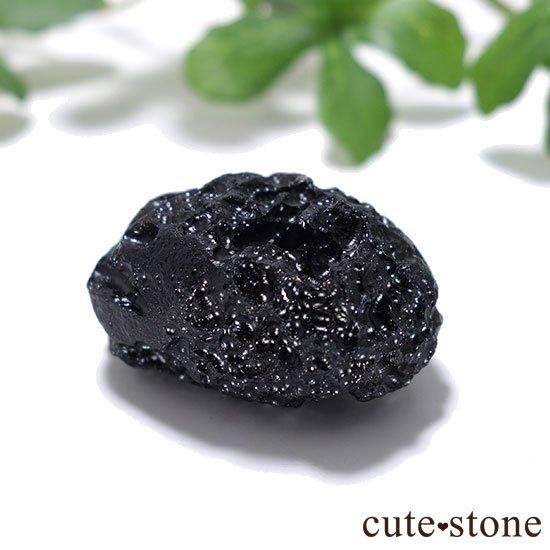 中国産テクタイトの原石の写真0 cute stone