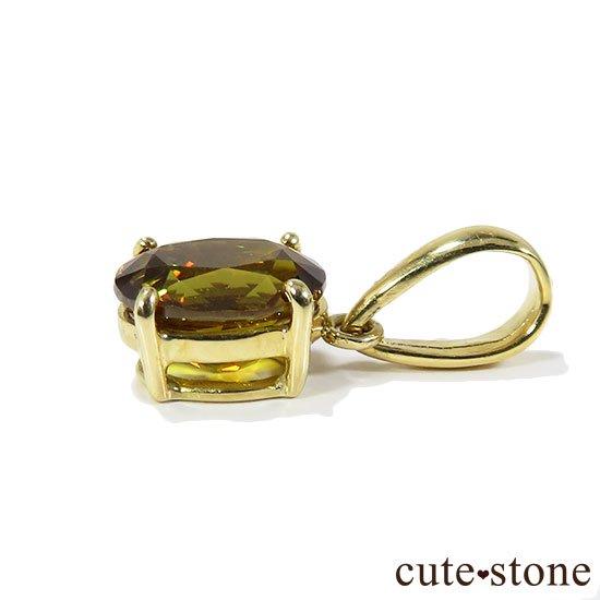 スフェーンのK18製のペンダントトップの写真2 cute stone