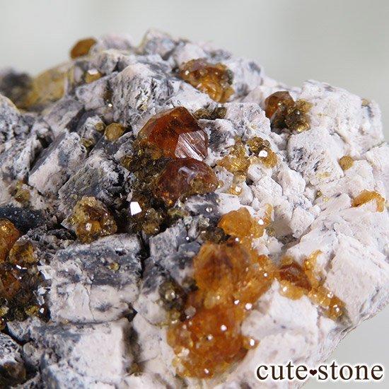 スぺサルティンガーネットの原石 Cの写真1 cute stone
