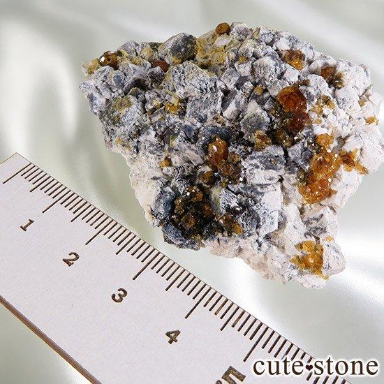 スぺサルティンガーネットの原石 Cの写真5 cute stone