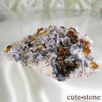 スぺサルティンガーネットの原石 Cの画像