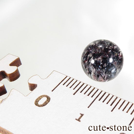 【粒売り】 レピドクロサイトインクォーツ AAAA ラウンド10mmの写真2 cute stone