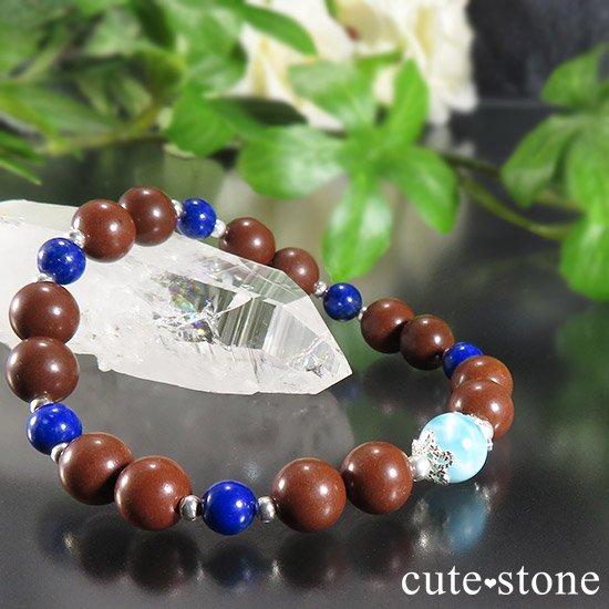【EARTH COLOR】 ラリマー セドナストーン ラピスラズリのブレスレットの写真4 cute stone