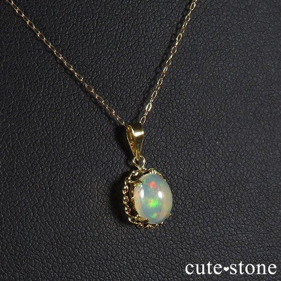 プレシャスオパールのペンダントトップの写真1 cute stone