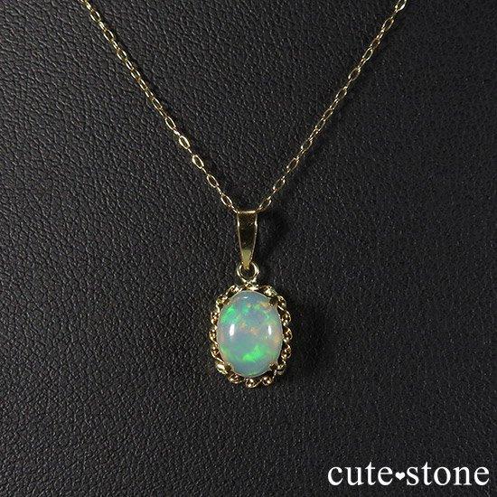 プレシャスオパールのペンダントトップの写真2 cute stone