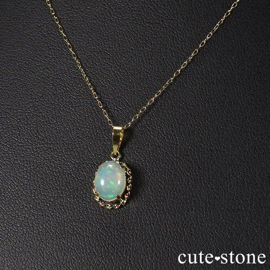 プレシャスオパールのペンダントトップの写真3 cute stone