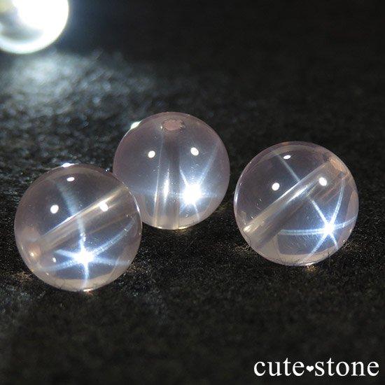 【粒売り】 スターローズクォーツ AAAA ラウンド10mmの写真0 cute stone