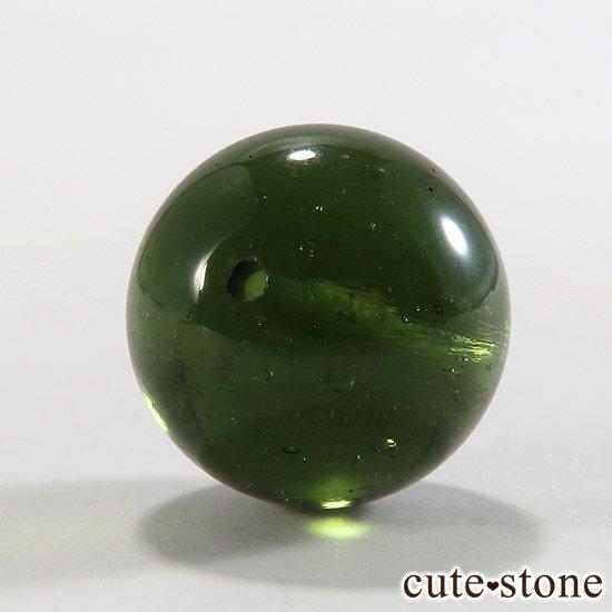 【粒売り】鑑別済 モルダバイト AAAAA ラウンド12mm No1の写真1 cute stone