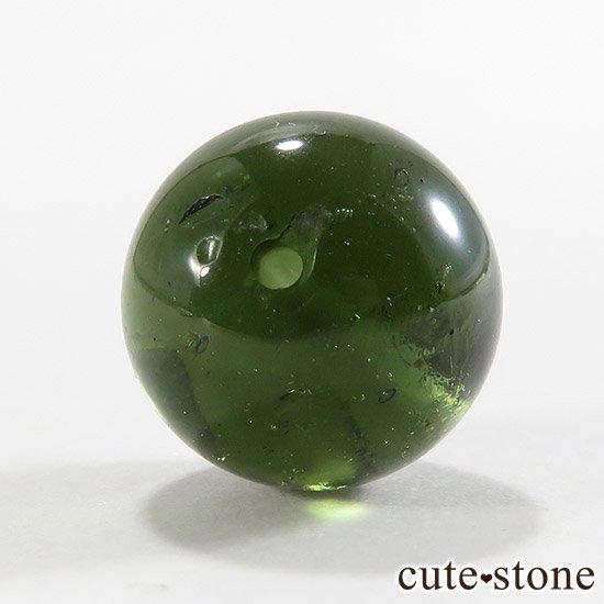 【粒売り】鑑別済 モルダバイト AAAAA ラウンド12mm No4の写真2 cute stone
