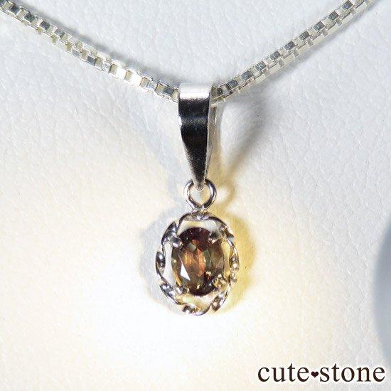 アレキサンドライト 0.19ct pt900製ペンダントトップの写真0 cute stone