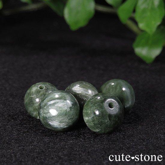 【粒売り】セラフィナイト AAA ラウンド10mmの写真0 cute stone