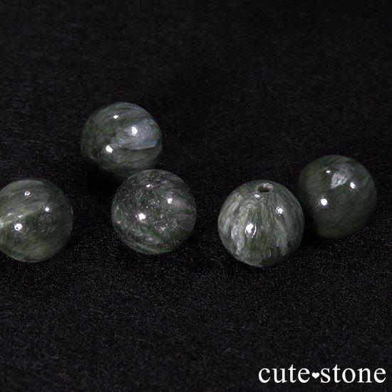【粒売り】セラフィナイト AAA ラウンド10mmの写真1 cute stone