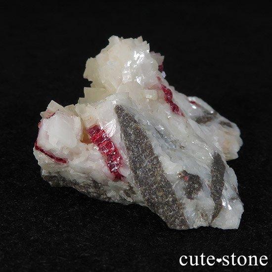 辰砂(シンシャ)シナバーの母岩付き原石 22gの写真2 cute stone