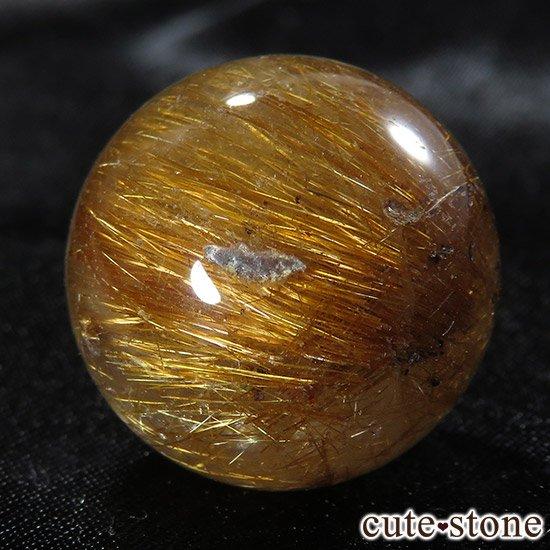 【粒売り】特大ブラウンルチルインクォーツ 20mmの写真5 cute stone