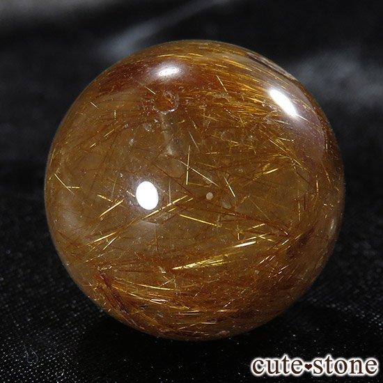 【粒売り】特大ブラウンルチルインクォーツ 20mmの写真6 cute stone