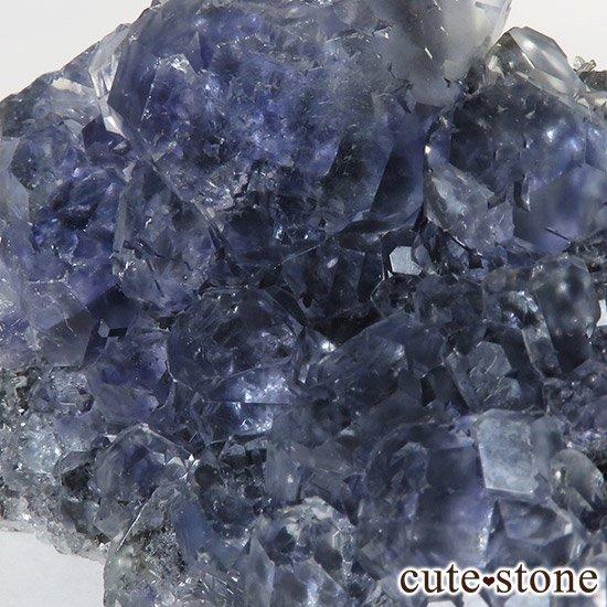 パープルブルーフローライト 中国福建省永春県産 81gの写真7 cute stone
