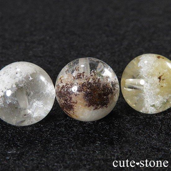 【粒売り】ホワイトガーデンクォーツ AAAA 10mmの写真1 cute stone