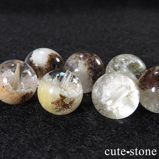 【粒売り】ホワイトガーデンクォーツ AAAA 10mmの写真2 cute stone