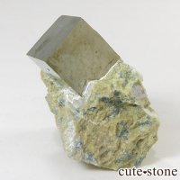 パイライトの母岩付き原石(キュービックパイライト) 25gの画像