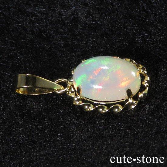 プレシャスオパールのペンダントトップ オーバルの写真1 cute stone