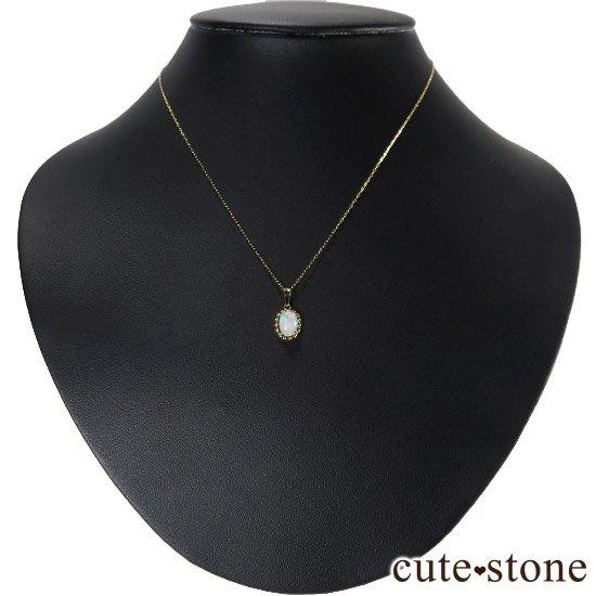 プレシャスオパールのペンダントトップ オーバルの写真2 cute stone